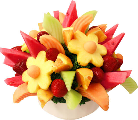 Mixed Fruit Bouquets