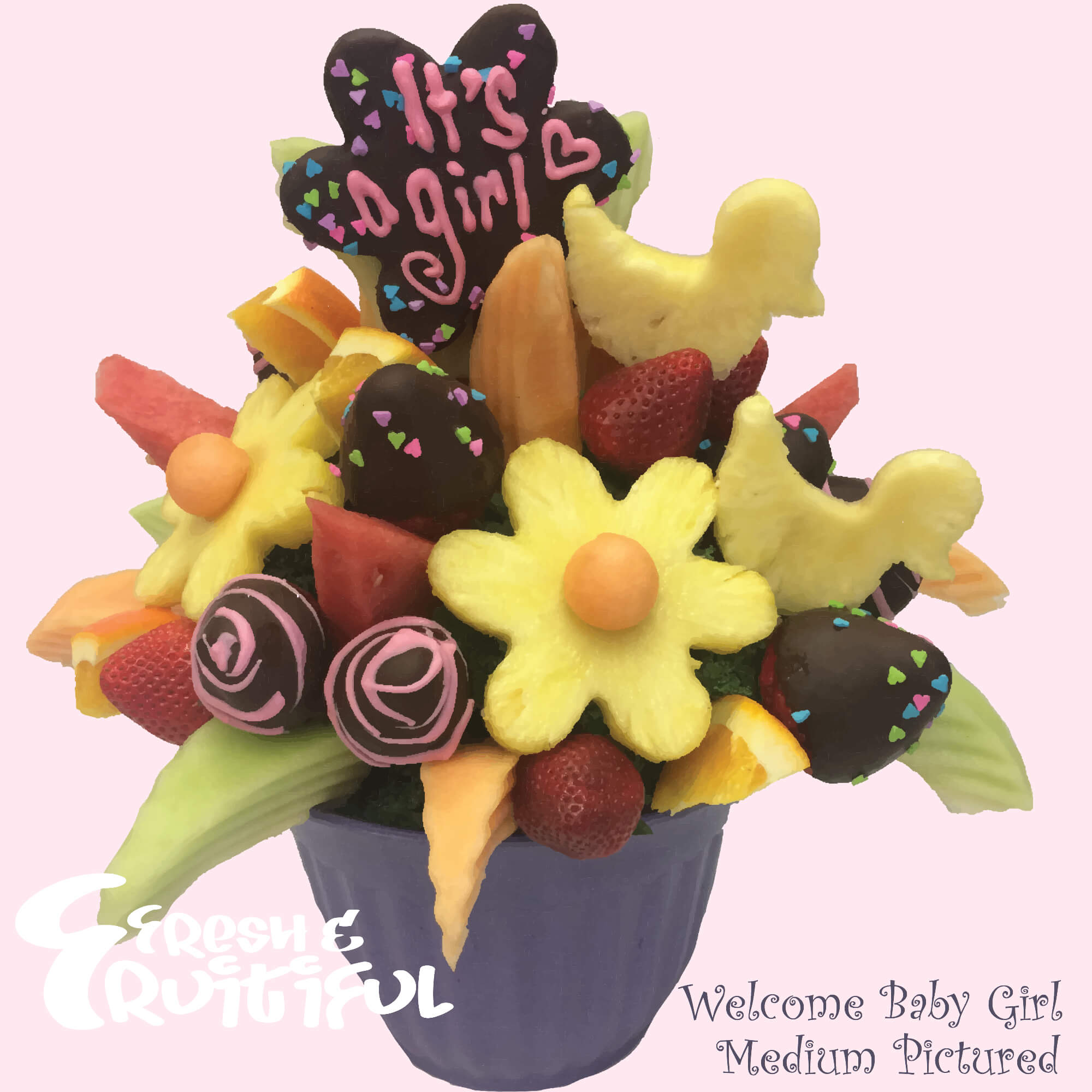 Welcome Baby Bouquets Fruitiful Bouquets